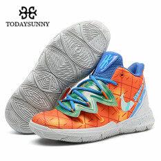 Todaysunny giày bóng rổ Kyries 5 cho nam nữ, giày thể thao thoáng khí cổ cao đến mắt cá chân – INTL