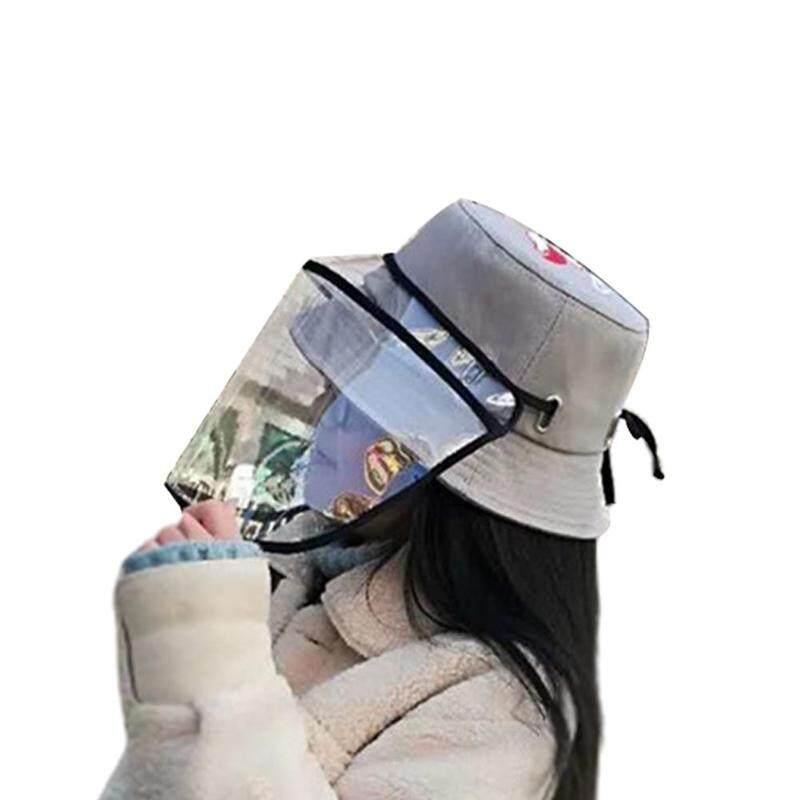 Giá bán 【Rainly Fashion】 Mũ Bảo Vệ Chống Khạc Nhổ Từ 2-8 Tuổi Mũ Che Mắt Người Cá Ngoài Trời Mũ Chống Bắn Nước