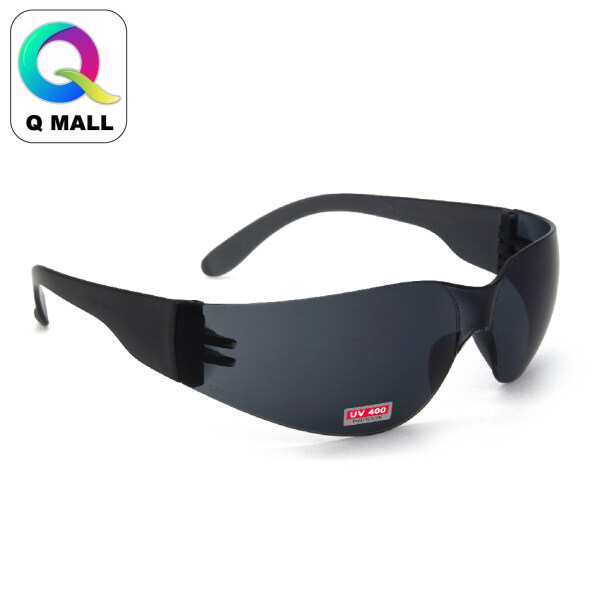Q MALL New Safety Eye Protection PPE Glasses Goggle Spec (817-2) Black