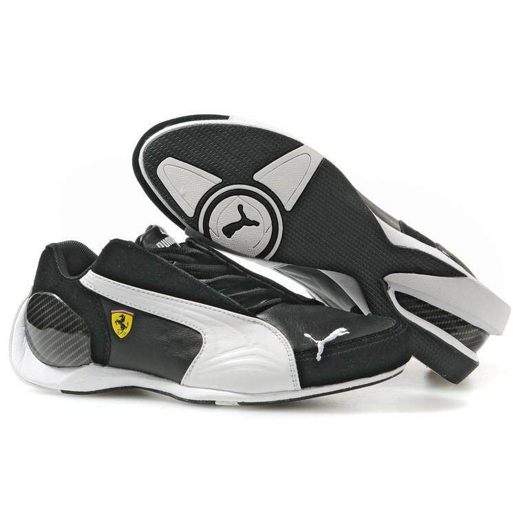 SLK ★ Mens Original PUMA Ferrari shoes Four Generations black white shoes 39---44
