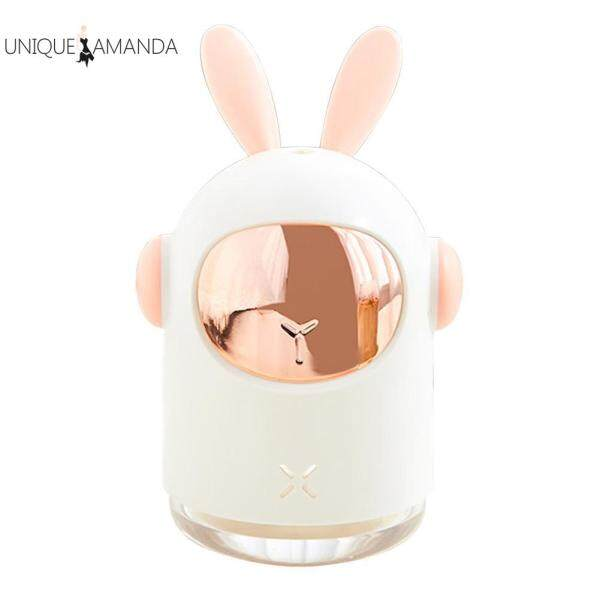 300ml Rabbit Shaped Ultrasonic Air Humidifier Desktop Aromatherapy Mist Maker Household Car Supply Singapore