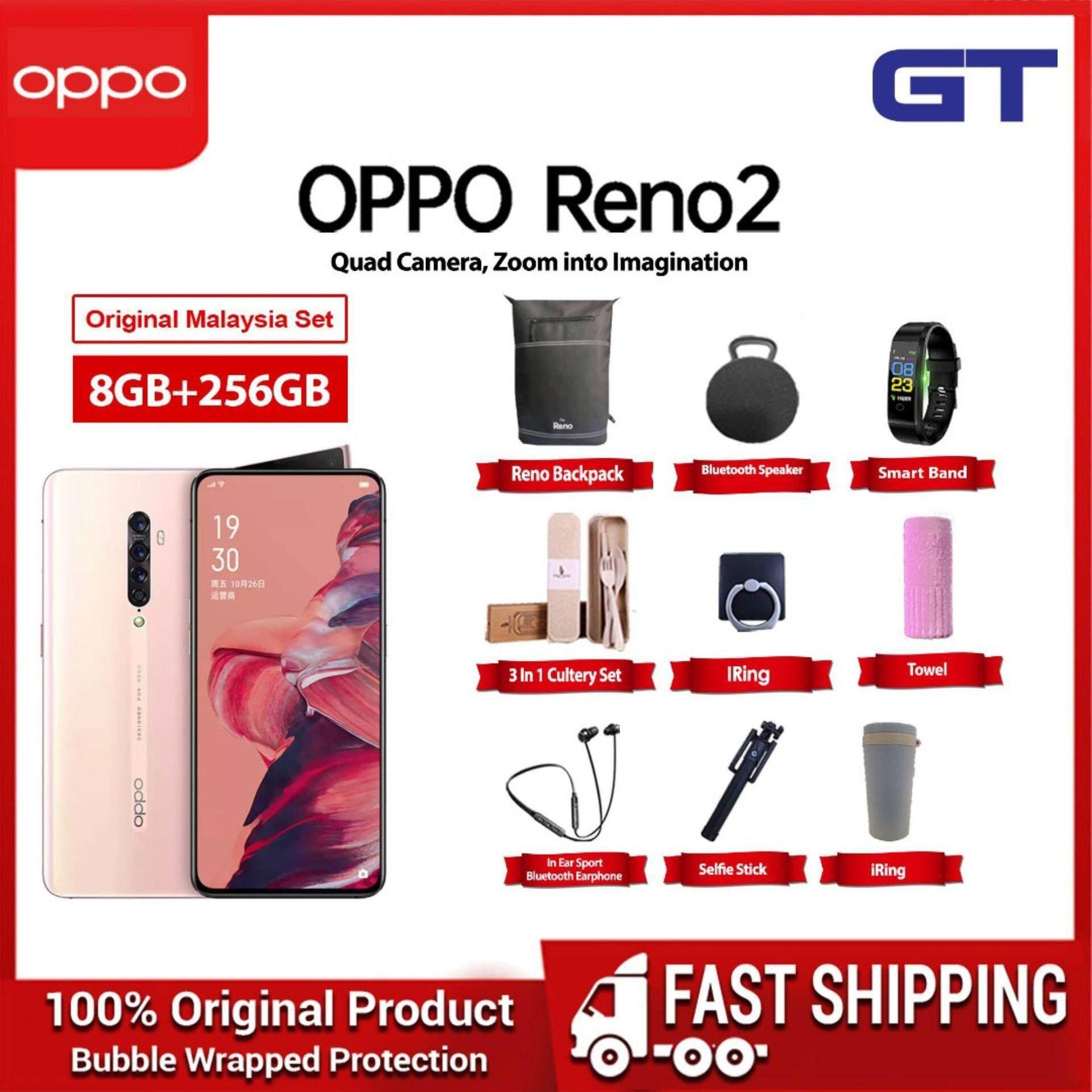 [12 12 Sale] [ Ready Stock ] Oppo Reno 2 handphone ( 8GB + 256GB Rom ) 1  Year Warranty By Oppo Malatsia