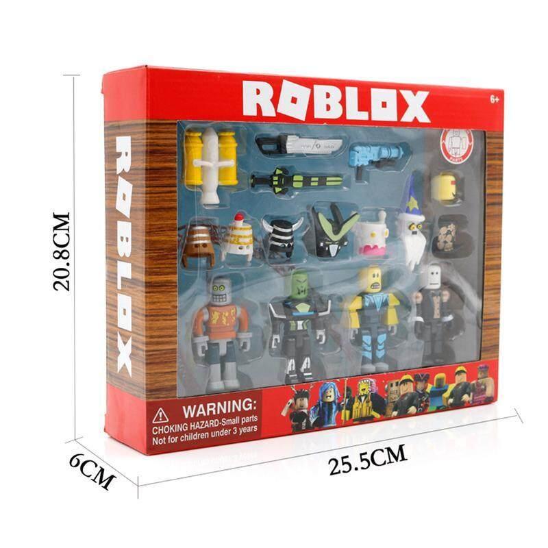Virtual World Roblox Figures ตุ๊กตาบล็อกหุ่นยนต์ Mermaid แชมป์โลก By Busheng Mall.