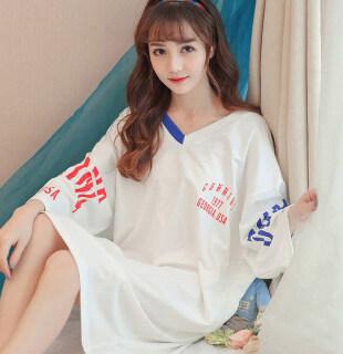 IHOME Cuộc Sống Áo Choàng Tắm, Silk Nữ Đồ Ngủ Trên Bán VÁY ĐẦM Cotton Mềm Ngoại Cỡ Thường Ngày Áo Ngủ Đèn Nhà Gợi Cảm Hàn Quốc Thời Trang Áo Ngủ Tay Ngắn Dáng Rộng 2021 Mới thumbnail