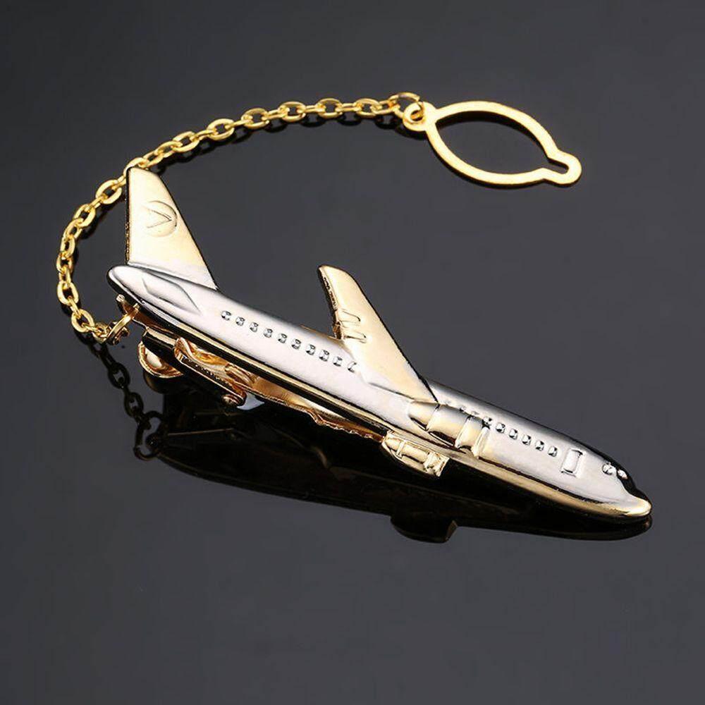 Fashion Men Tie Clip Wedding Shirt Tie Pin Accessories Plane Shape Necktie  Clips Classic Design
