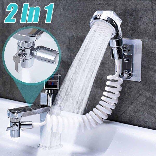 Bathroom Wash  Basin Water Tap External Shower Head Toilet Hold  Flexi -
