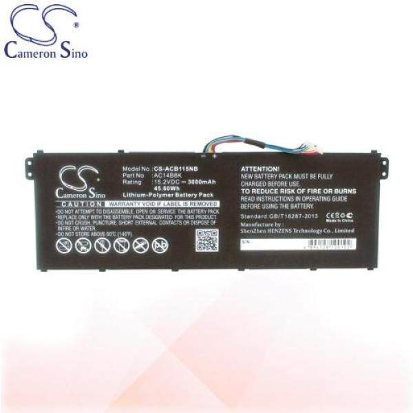 CameronSino Battery for Acer Aspire ES1-511 / ES1-711G / R13 / R7-371T Battery L-ACB115NB