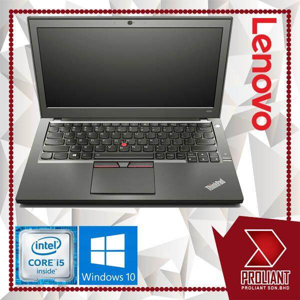 LENOVO THINKPAD X250 ULTRABOOK [CORE I5/ 4GB / 128GB SSD] 12.5-INCH  1 YEAR WARRANTY Malaysia