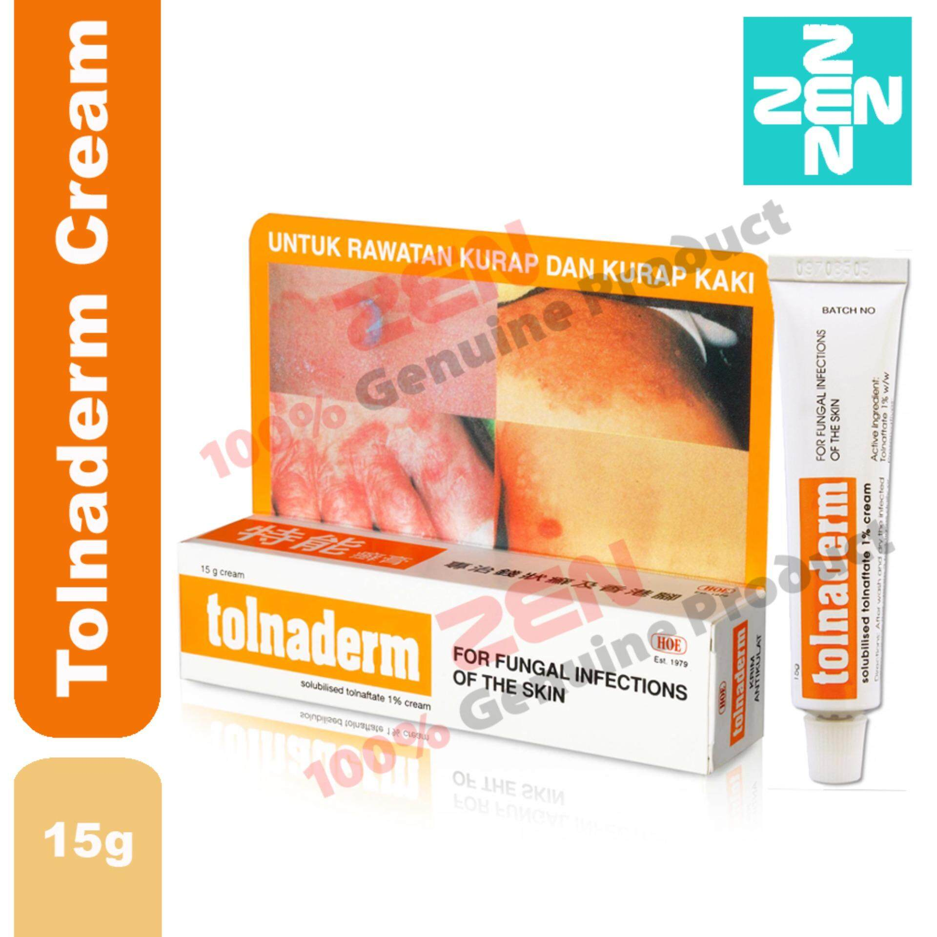 Tolnaderm Cream 15g Fungal Cream By Zen Pharmacy.