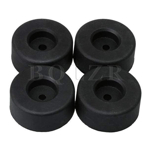 4 5cm Dia 1 8cm Height Furniture Legs 4 For Of Set Black Table Desk Feet Couch