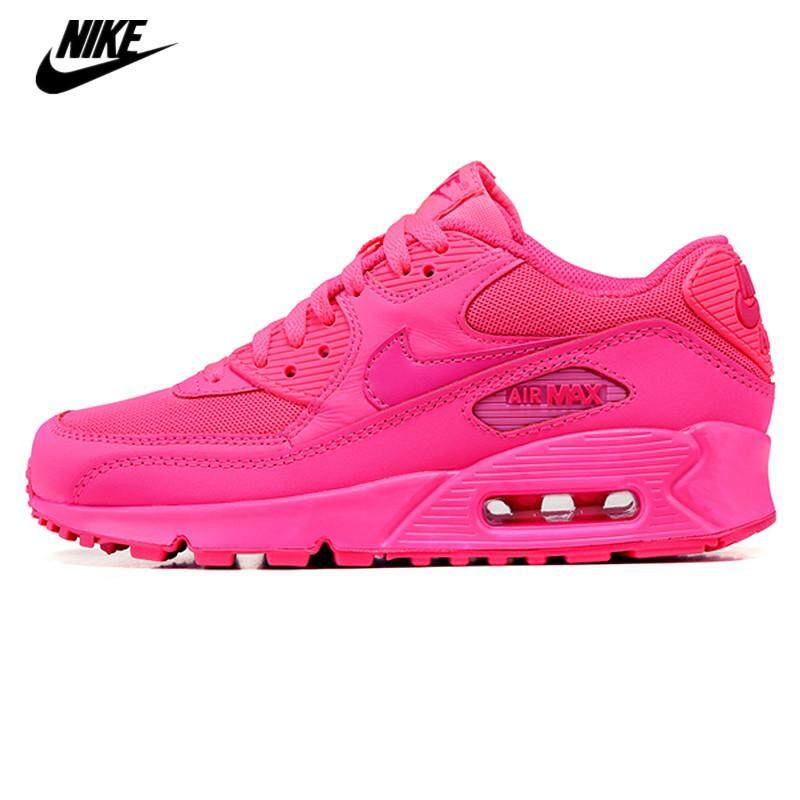 cheap for discount 51ba8 5cff8 Nike New women s shoes Arrival Air Max 90 women s running shoes breathable  sports shoes 345017-