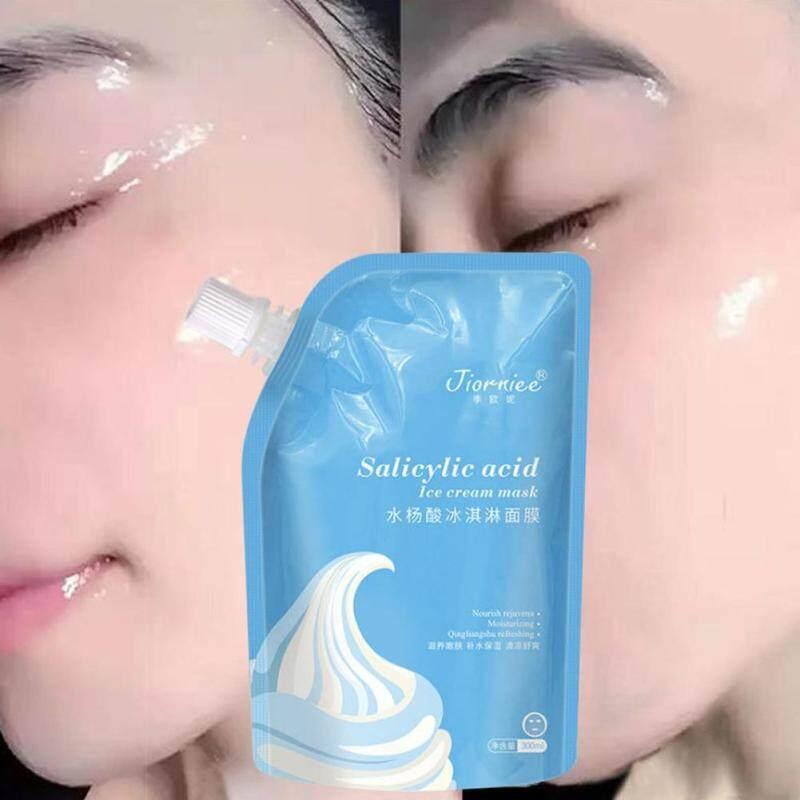 300Ml Salicylic Acid Ice Cream Mặt Nạ Giảm Mụn Trứng Cá Mụn Đầu Đen Giữ Ẩm Làm Sạch Và Thu Nhỏ Lỗ Chân Lông Mặt Nạ giá rẻ