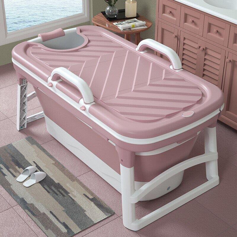 Baby Infant Newborn Bath Wash Washing Tub Portable Bathtub Bucket Plastic 100cm Grey Zebra