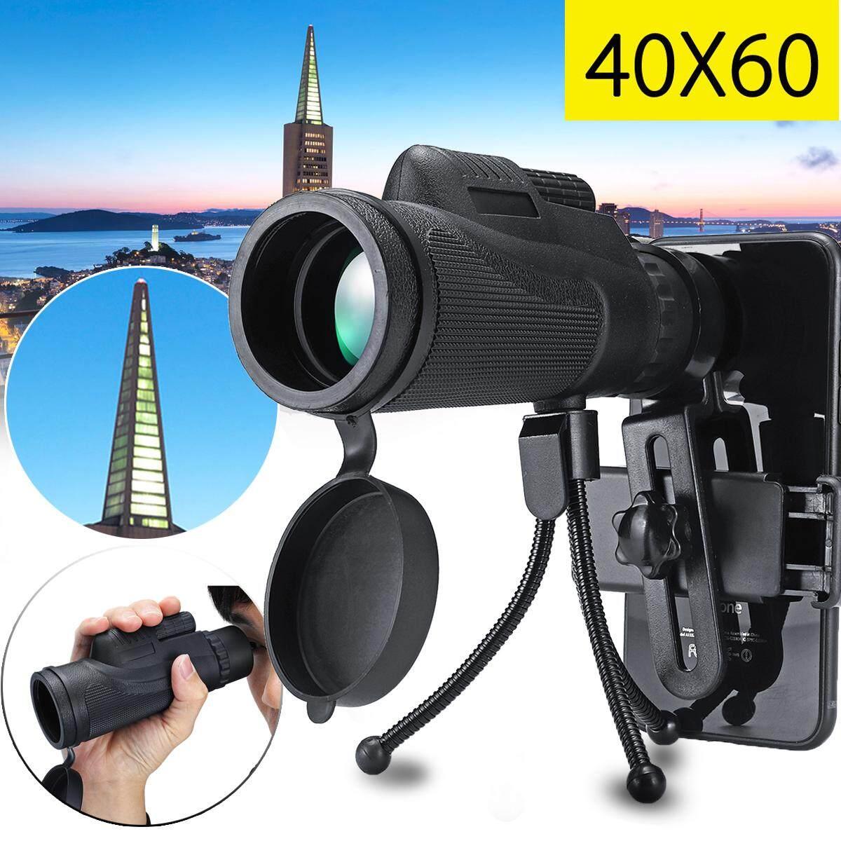 【free Pengiriman + Flash Deal】40x60 Zoom Teleskop Optik Tele Teleskop Ponsel Lensa Kamera Klip Tripod By Teamwin.