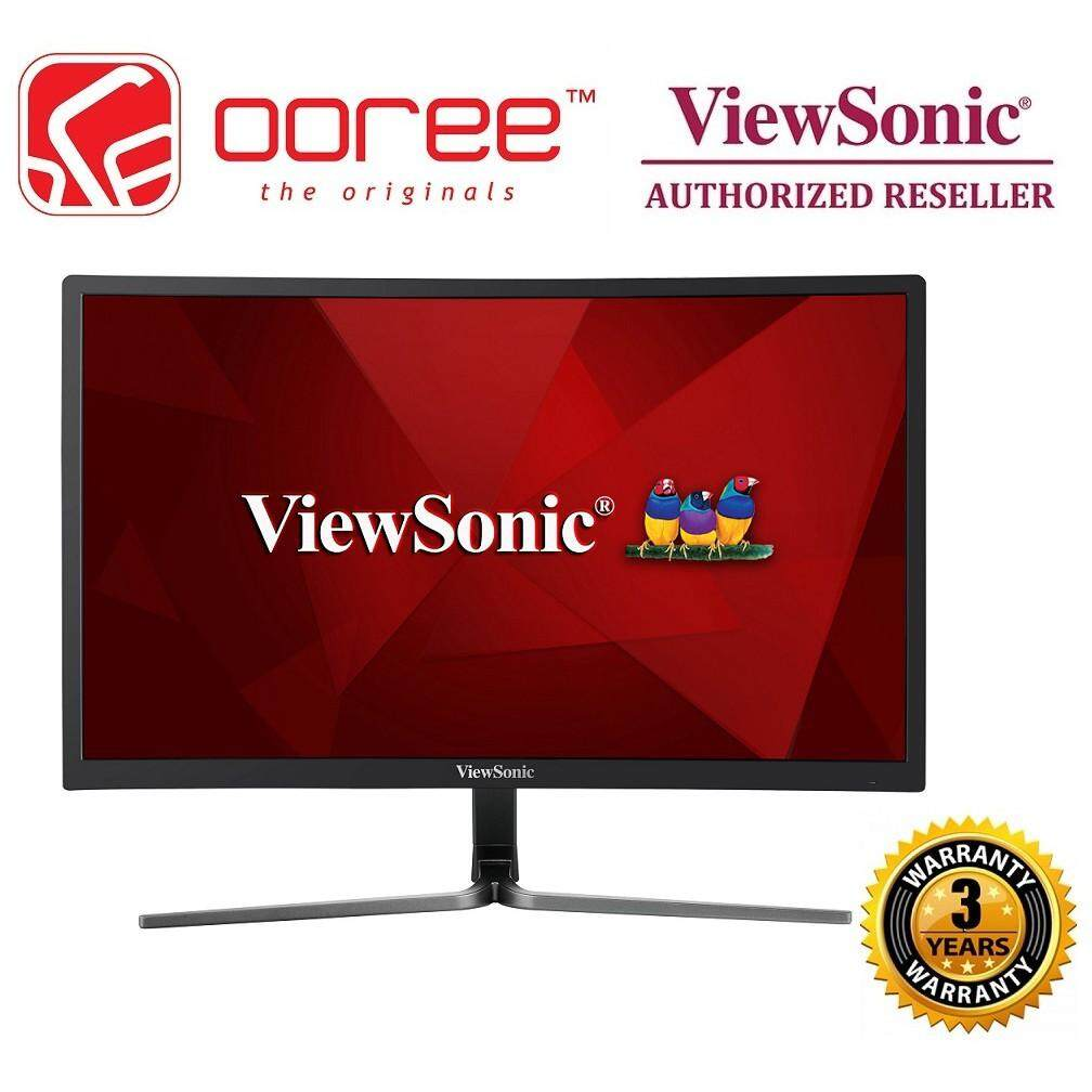 VIEWSONIC 24 VX2458-C-MHD LED CURVED HD READY (RESOLUTION: 1920x1080 & 144Hz) VA LCD MONITOR (1MS RESPONSE TIME, DVI + HDMI + DISPLAY PORT INPUT, 3W SPEAKER x2, NO VESA WALL MOUNT) 3YEARS WARRANTY, BLACK COLOUR Malaysia