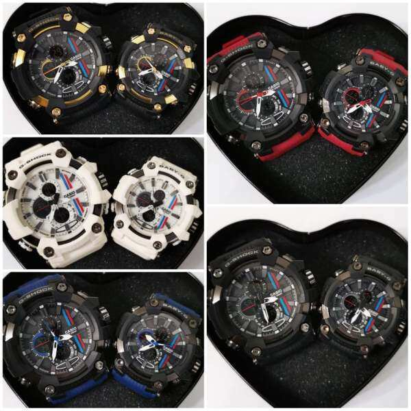 GSH0CK BABEG Hugeman Dual Time Couple Set (2 pcs) Malaysia