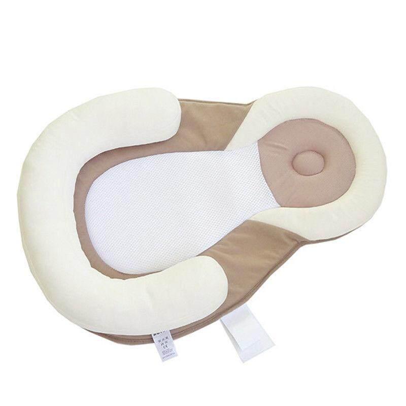 Bayi Bayi Anti-Roll Kepala Bantal Duduk Mencegah Flat Sleep Pod Sarang