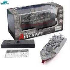 Mô hình tàu chiến quân sự điều khiển từ xa RCTOWN không dây tần số 2.4G, đồ chơi tàu sân bay/ tàu thủy mini chống nước phù hợp làm quà tặng cho trẻ em – INTL