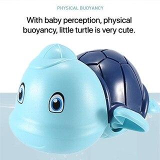 Đồ chơi nhà tắm rùa có mũ bơi vặn cót siêu cưng chất liệu an toàn cho bé thỏa sức vui chơi - INTL 2