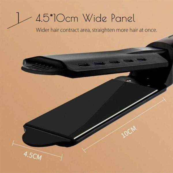 Buy Ceramic Tourmaline Ionic Flat Iron Hair Straightener Professional Glider Singapore