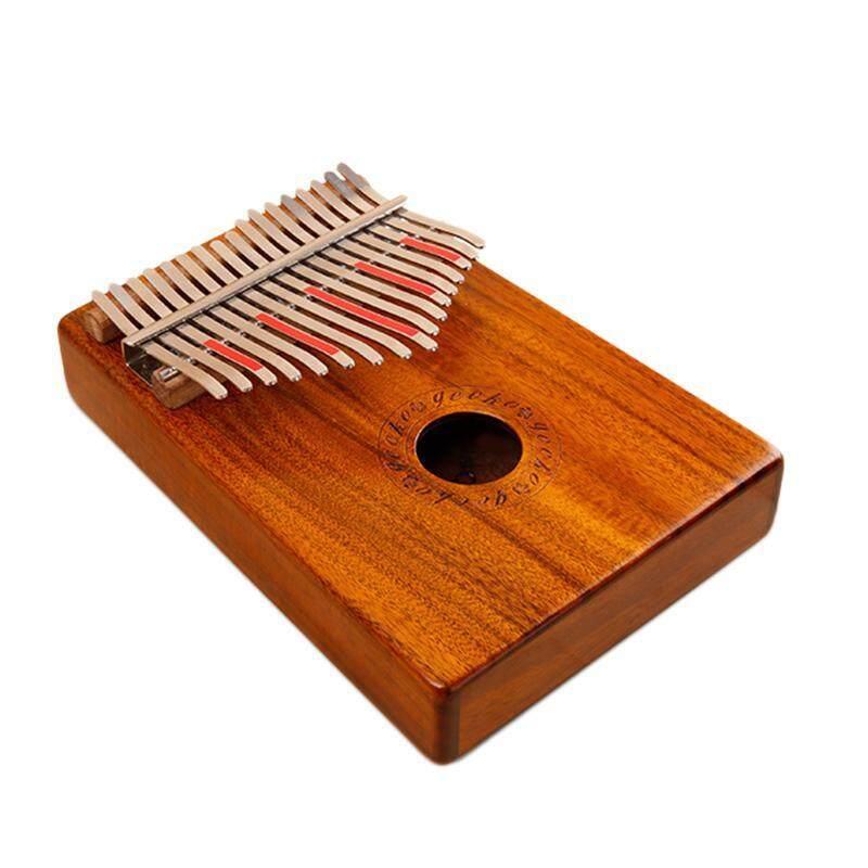Gecko 17 Keys Thumb Piano Builts-In Eva High-Performance Protective Box, Tuning Hammer and Study Instruction. Malaysia