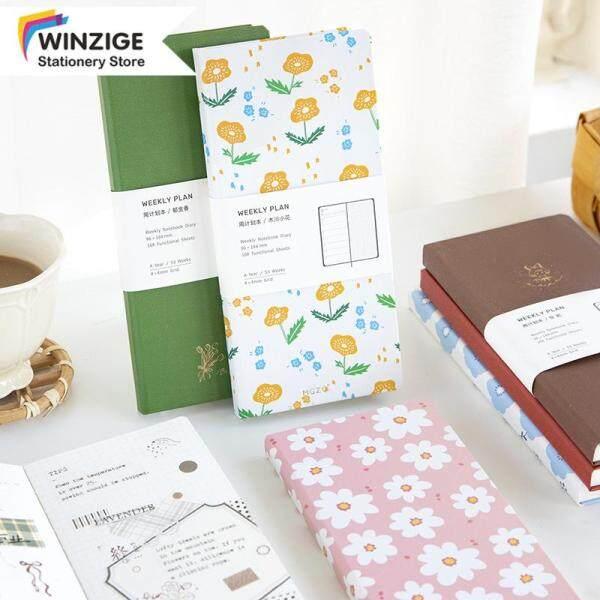 Cuốn Sách Du Lịch Winzige TN Hàng Tuần Hàng Tháng Sổ Nhật Ký Lưới Notepad Kế Hoạch