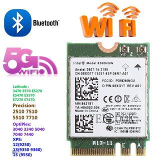 AC8260 8260NGW 8260AC Intel Wireless-AC 8260 867Mbps Bluetooth 4.2 Băng Tần Kép 2.4 + 5GHz NGFF M.2 Thẻ WIFI 802.11ac Hỗ Trợ VPro WIDI 08XJ1T thumbnail