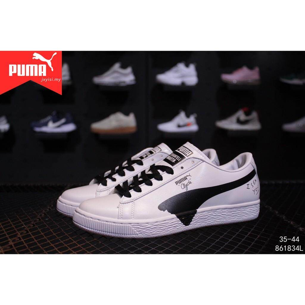 550a862f346 Puma Suede Classic Wn s Women white sneakers Men classic Graffiti flat shoes