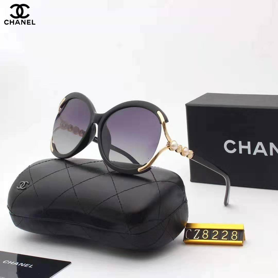2019 new Chanel_high-end round fashion polarized sunglasses (CH8419) red and a variety of colors available