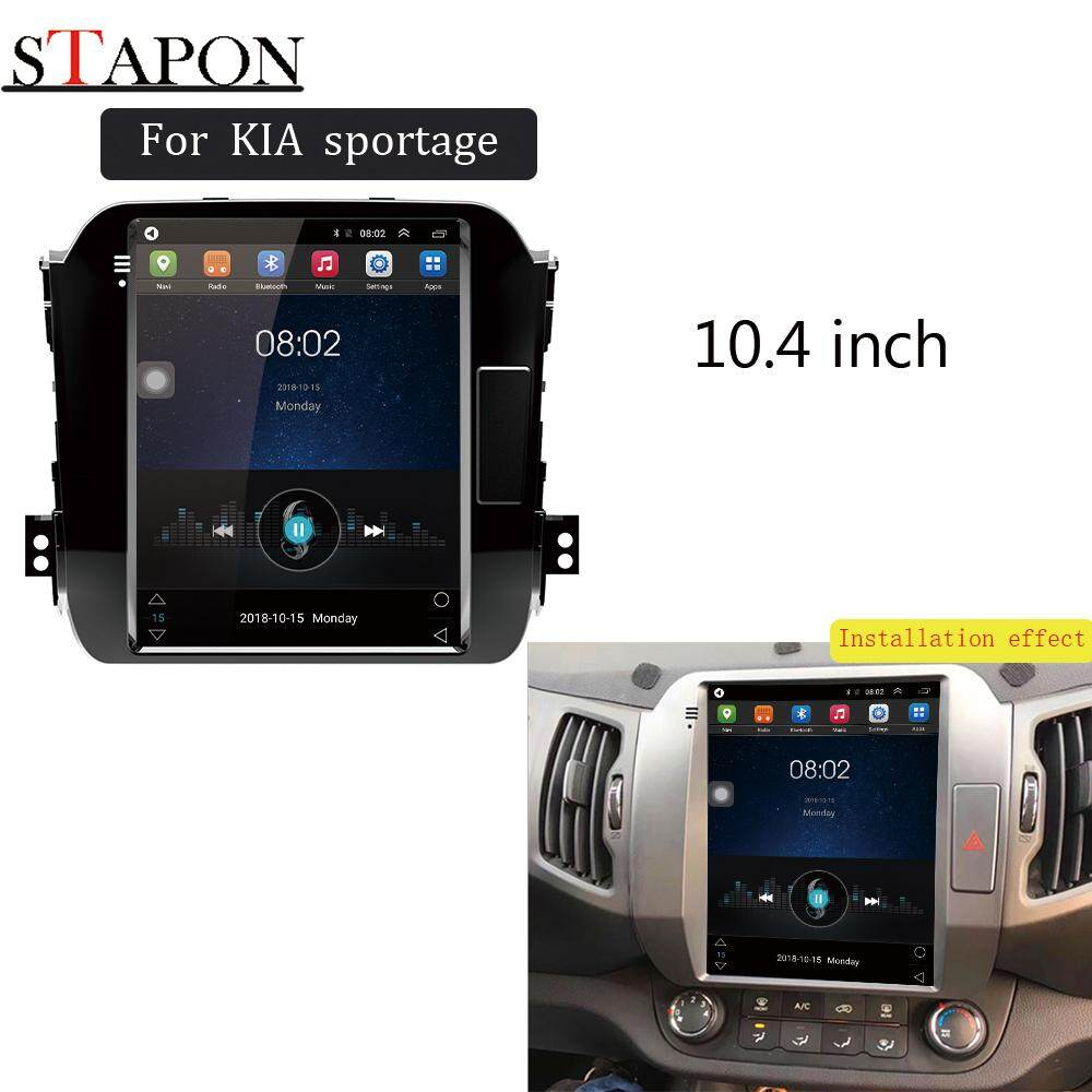 STAPON 10 4inch for KIA sportage 2011-16 2G RAM 4G NET car Android HEAD  UNIT plug and play multimedia player with vertical screen series Tesla  style