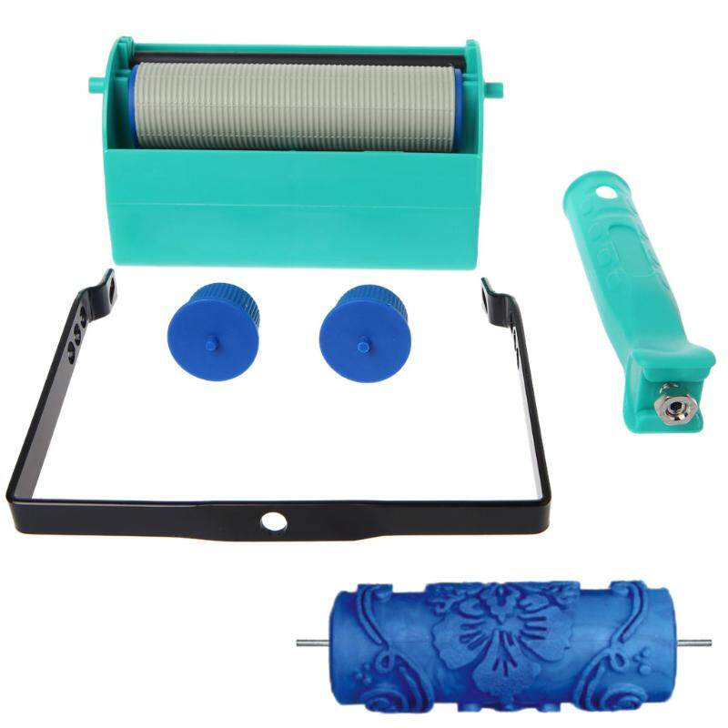 """7/"""" Embossed Grain Painting Roller Brush Machine for Wall Decoration 14 Types"""