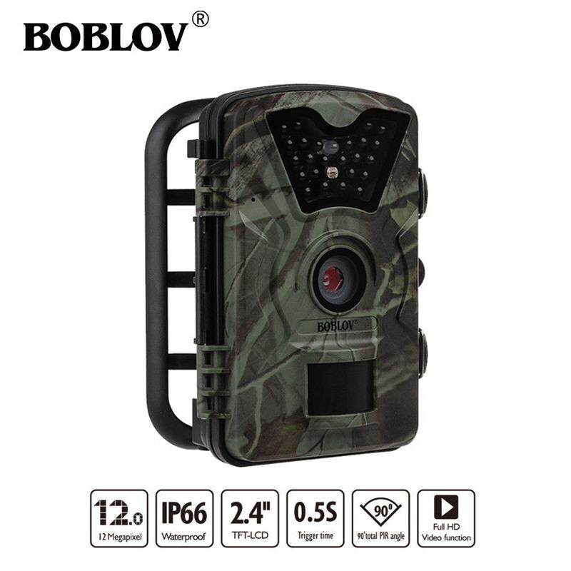 BOBLOV CT008 Wildlife Trail Photo Trap Hunting Camera 12MP 1080P 940NM  Waterproof Video Recorder Cameras for Security