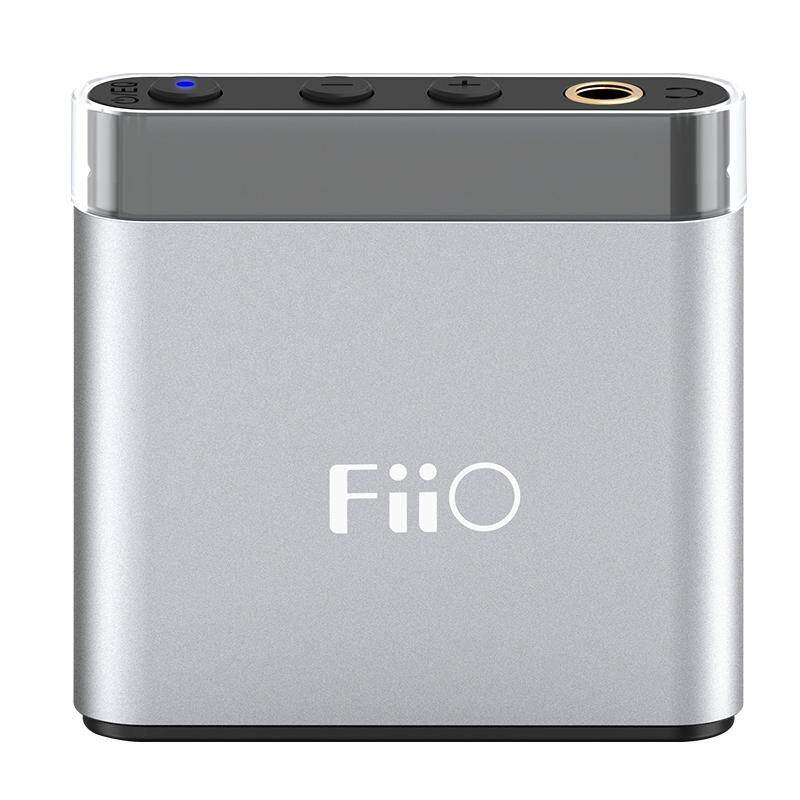 Fiio A1 Headphone Amplifier AMP Classic Tiny Size Metal Shell Plug and Play  4 EQ Modes Hardware Bass Boost Setting