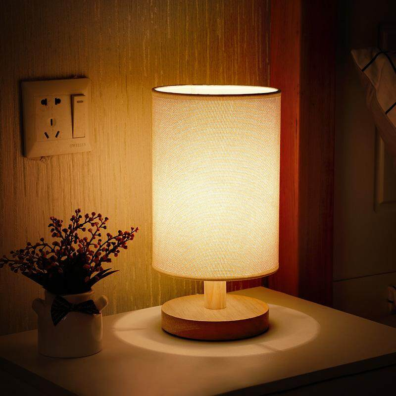 Minimalist Modern Creative Small Table Lamp Bedroom Bedside Lamp Warm Small Night Lamp Mini Feeding Lamp Eye Protection Energy Saving Singapore