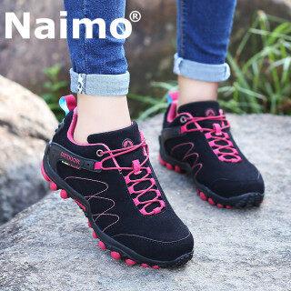 Giày thể thao nam nữ mikejie, giày leo núi, Giày đi bộ ngoài trời, có dây buộc, thoáng khí, chống nước thumbnail