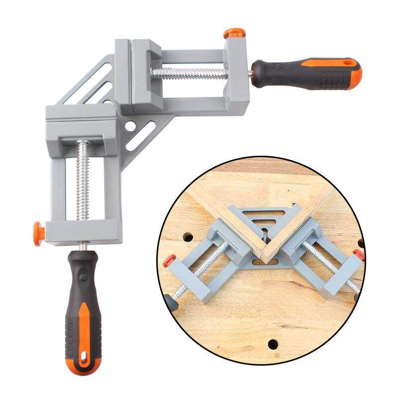 FlyUpward Quick-Jaw Right Angle 90 Degree Corner Clamp for Welding, Wood Working, Photo Framing, Best Unique Tool Gift for Men