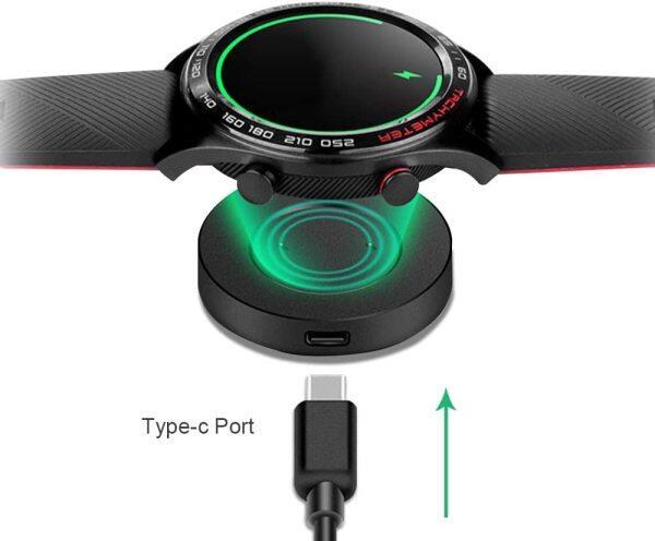 Đế Sạc Cáp USB Không Dây Tiện Dụng Đế Sạc Đồng Hồ Nam Châm Nguồn Cho Huawei Watch GT / GT2 Honor Magic / Dream