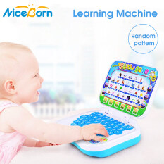 NiceBorn Pronunciation Learning Machine Cartoon Fold English Alphabet Language Computer Early Learning Educational Machine Toy Baby Educational Toys Children Gift