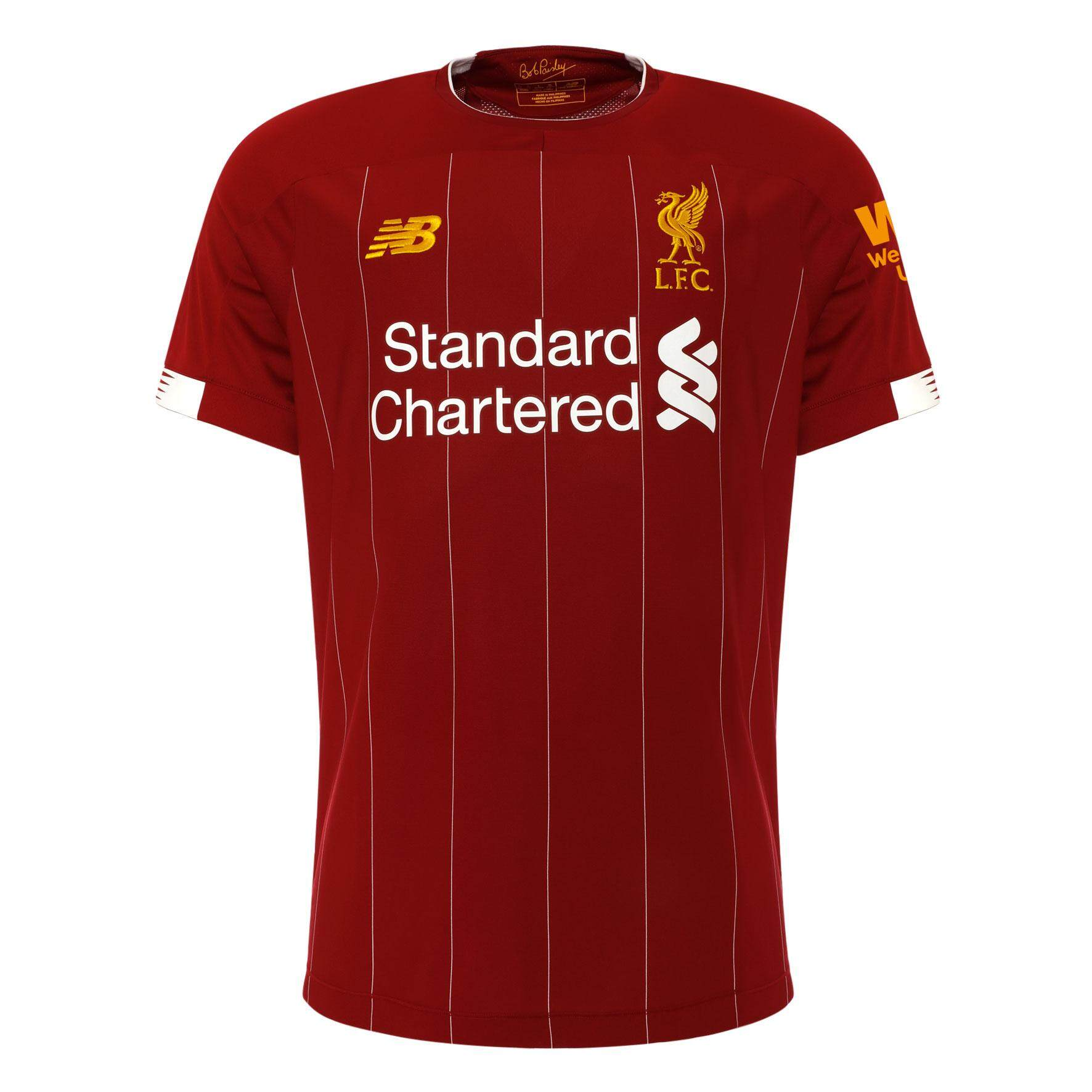 37809253a 2019 2020 LFC Home Football Jersey Men