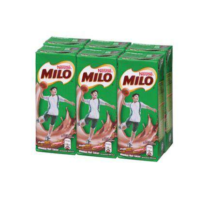 Milo Activ-Go Uht 6 Packs X 200ml By Freshdrink.