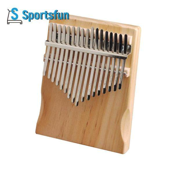 17 Keys Kalimba Pine Musical Instrument Thumb Finger Piano for Beginner Malaysia