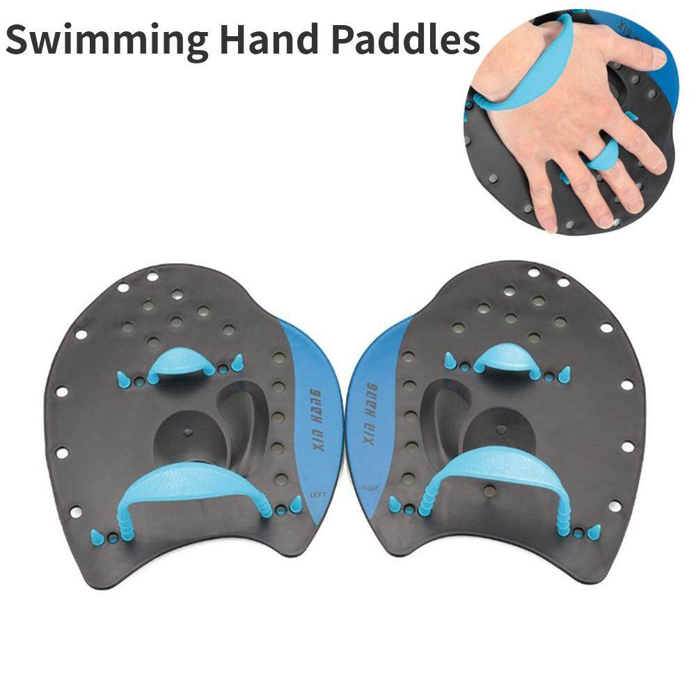 1 Pair Swimming Paddle Swimming Hand Paddles For Trainng Swimming Beginners Adults Kids Size M By Eshopdeal.