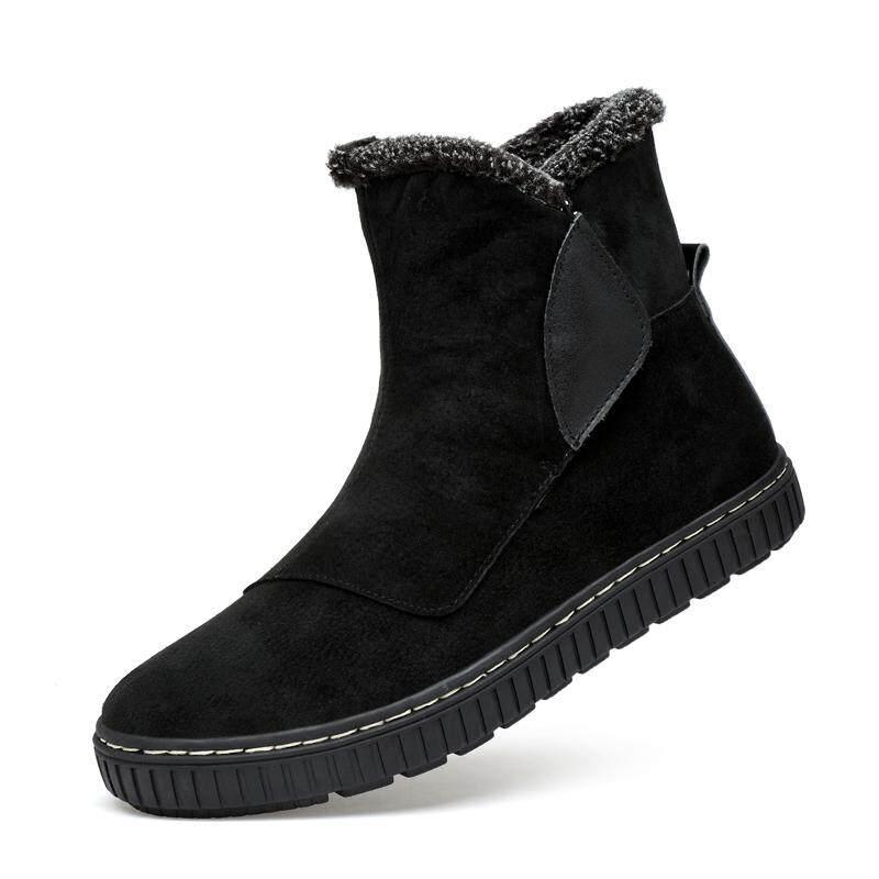 ผู้ชายใหม่รองเท้าบูทฤดูหนาว, รอบหัวรองเท้าอบอุ่น By South Asia Online Supermarket.