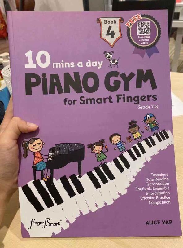 Piano Gym Book 4 for Grade 7-8 Malaysia