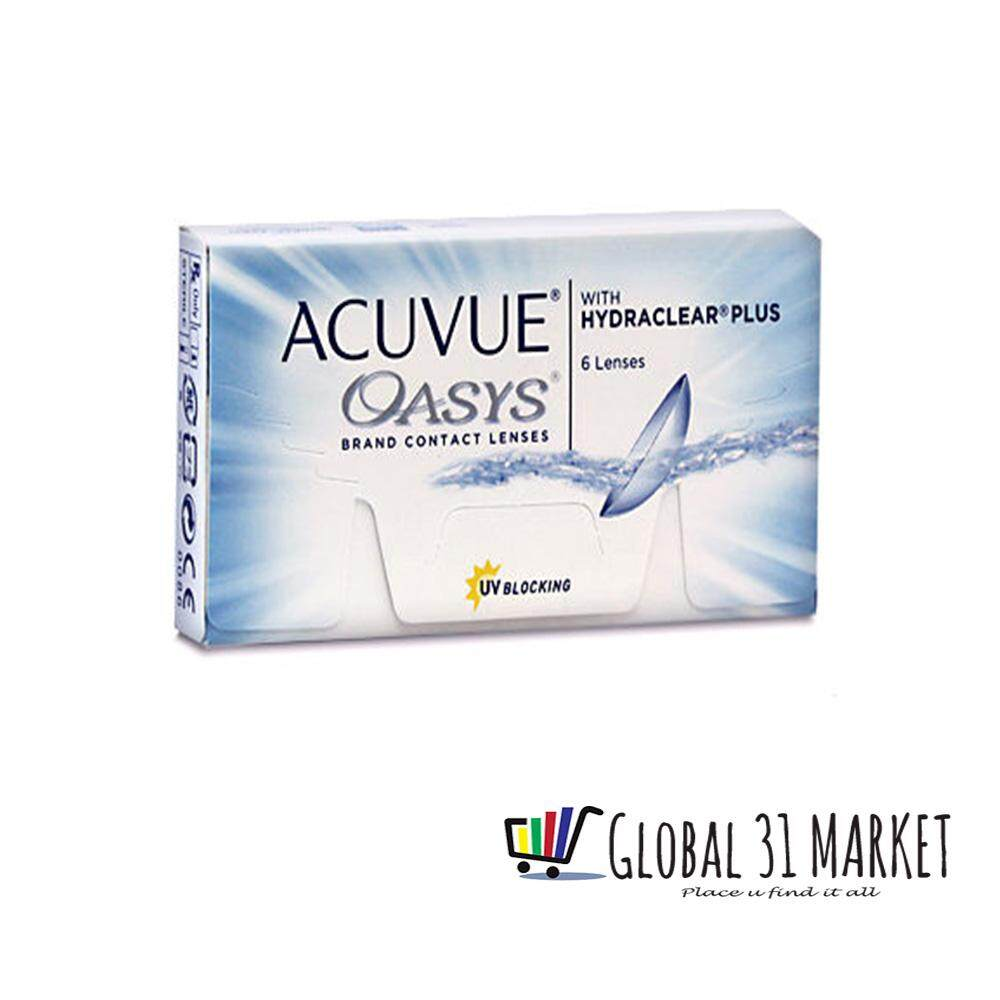 Acuvue Oasys 2 Weeks Clear Contact lens , Base Curve 8.8 (5.25 to -12.00) Ready Stock