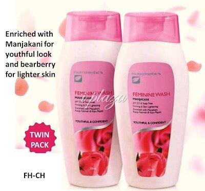 Nutrimetics Feminine Wash Manjakini- Twin Pack