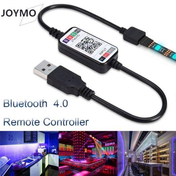 Bảng giá 【JOYMO】On Bán Vigo【In Stock】Hot Điện Thoại Thông Minh Mini Không Dây 5-24V Bộ Điều Khiển Đèn Dây LED RGB Điều Khiển Bluetooth 4.0 Cáp USB