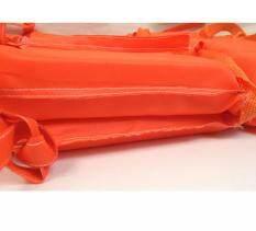 Hayating Bopin Orange Phòng Chống Hữu Ích Lũ Lụt Người Lớn Bọt Bơi Áo Phao Vest + Còi