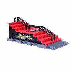 1pcs Mini Toy Skate Park Table Gaming Finger Skating Board Ramp Parts For T-Ech D-Eck Fingerboard Finger Board F By Cs Store.