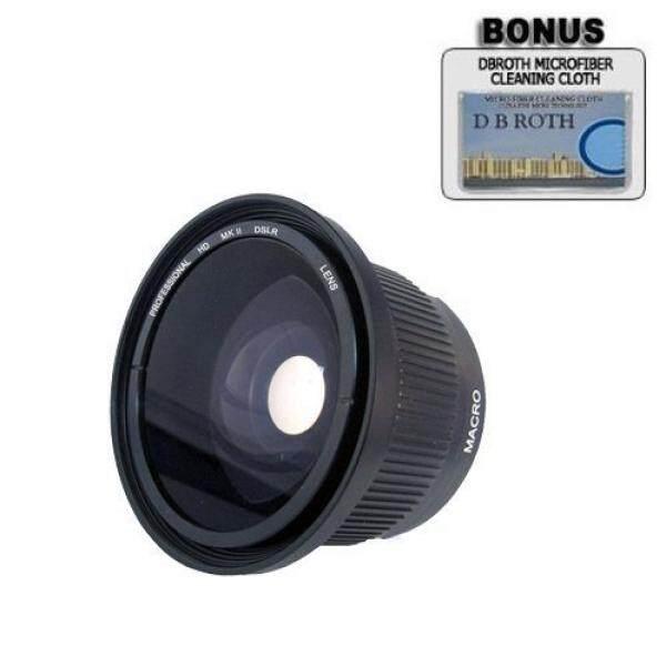 .. 0.42x HD Super Sudut Lebar Panorama Lensa Mata Ikan Makro untuk Nikon D3100, d7000 Digital SLR Kamera Yang Memiliki Ini (18-55 Mm 55-200 Mm, 50 Mm) Nikon Lensa-Intl